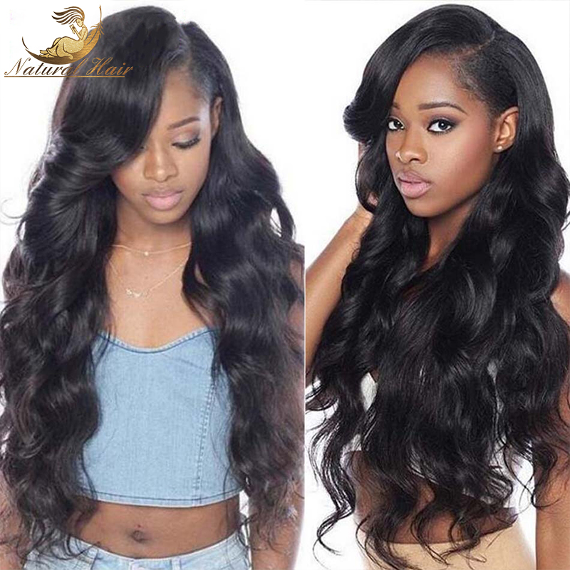 8A Density Full Lace Wig Virgin Brazilian Body Wave Human Hair Wigs Lace Front Wig Glueless