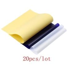 20pcs Newest Tattoo accessories Stencil Transfer Paper A4 Tattoo Thermal Stencil Transfer Paper Thermal Stencil Carbon Paper
