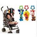 Bonito Brinquedos Musicais Suaves Crianças Recém-nascidas Do Bebê Animais Brinquedos Carrinho de Bebê Móvel Brinquedos Boneca de Pelúcia Jogando Brinquedos Bebes