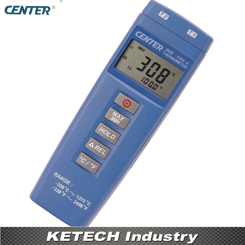 Economical Thermometer Digital Thermometer Compact Size Thermometer CENTER308 thermometer