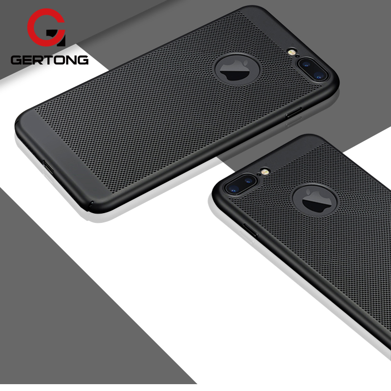 GerTong Breath Phone Case For iPhone 7 6 s 6 Plus Capinhas For iPhone 5 5S SE Luxury Thin Slim Coque Fundas Hard PC Cover Shell