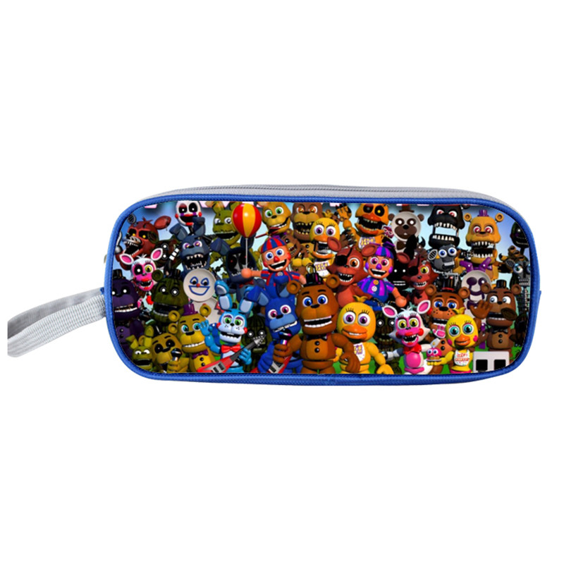 FVIP Five Nights At Freddy`s Cute girl Gravity Falls Anime Pencil Cases Cosmetic Cases Pencil Holder Kids Cases Makeup Cases майка классическая printio five nights at freddy
