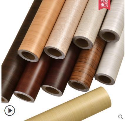 Tự dính hạt gỗ dán 3d dán tường tủ âm tường tủ cửa phòng ngủ tủ quần áo trang trí đồ nội thất cập nhật không thấm nước