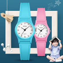 SKMEI NEW Kids Watches Boys Girls Children Outdoor Sports Watch Simple Waterproof PU Starp Quartz Wristwatch 1401 reloj