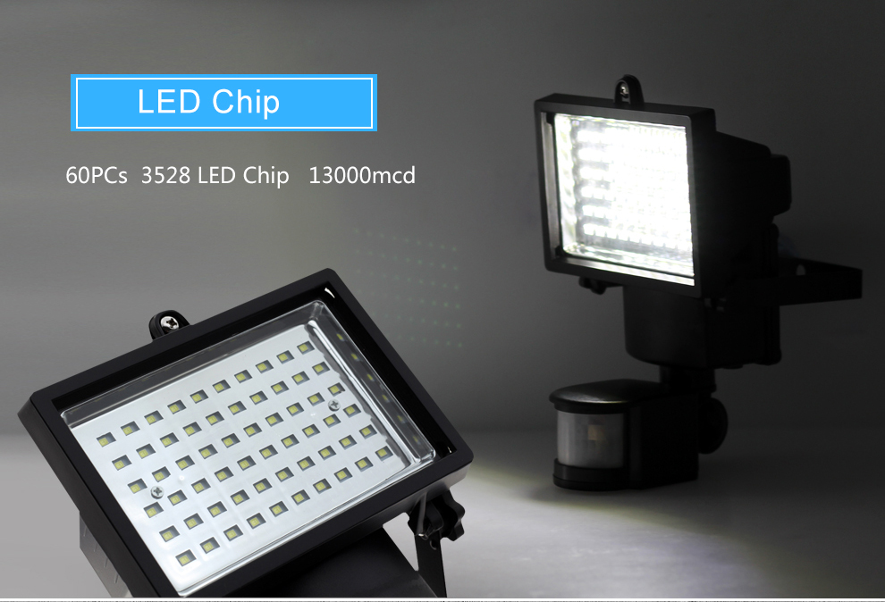 54//86 LED Solar Power Motion Sensor Garden Security Lamp Outdoor Light LOT US BT