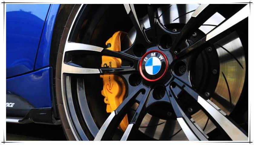 37258bc6eff4 Car Styling Wheel Hub Decorative Circle For BMW X1 X2 GT F39 X3 G01 F25 E83
