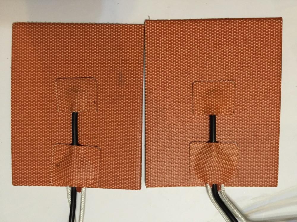 Thermistance 200mm X 300mm, 600 W 220 V, w/NTC 100 K, radiateur d'imprimante 3D de réchauffeur de Silicone, qualité industrielle garantie de première qualité