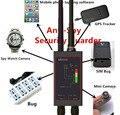 1MHz-12GH Detector Anti-espía de Radio Detector de señal RF GSM del FBL detectores de rastreador automático rastreador de GPS LED antena