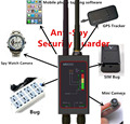 1MHz-12GH Radio Anti-Spy Rilevatore di FBI GSM RF Del Segnale Auto Tracker Rivelatori GPS Tracker Finder Bug con Lungo Magnetico LED Antenna