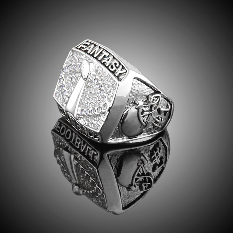 league rings ring for fantasy football experts champions gridiron