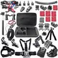 Gopro Аксессуары Go pro Hero 1 2 3 4 Acessórios Для Sj5000 HDR-AS15/AS20/AS30V/AS100V/я Sony Fdr-x1000v/W 4 K Действий Камеры