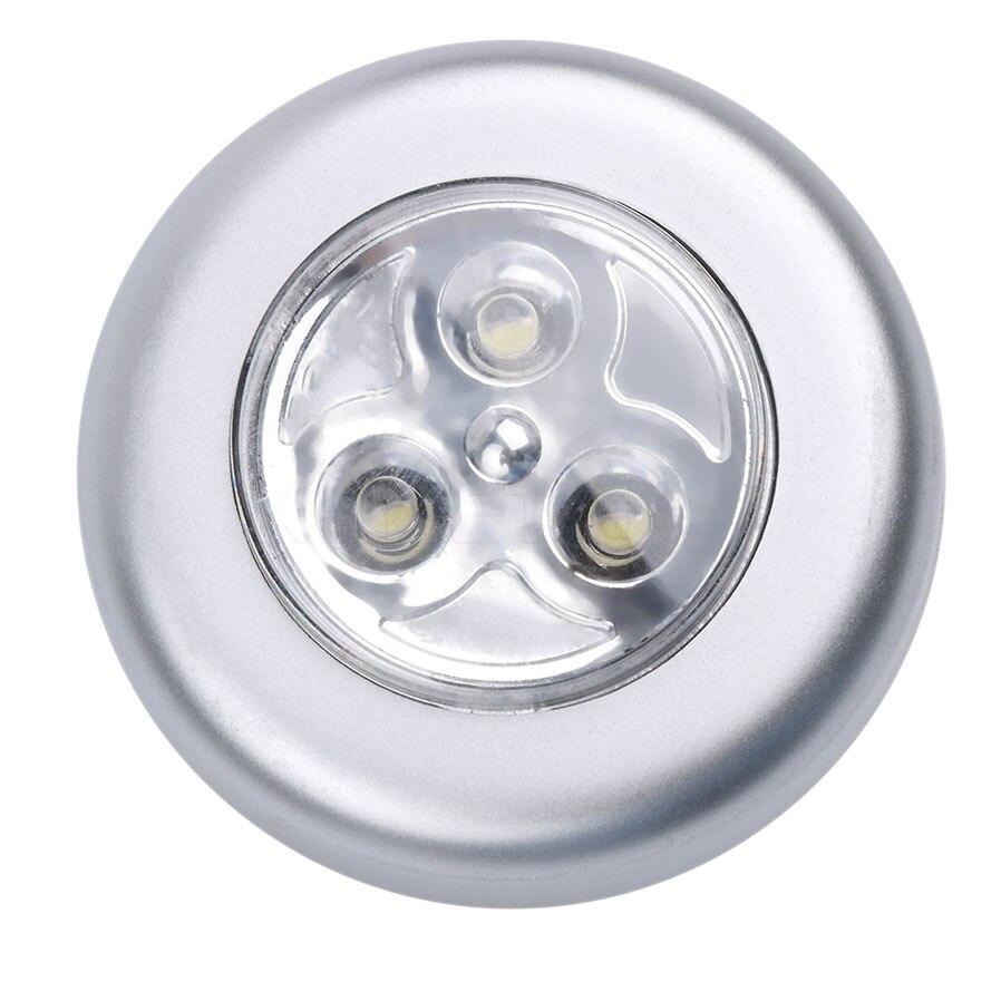 Nacht Lampe Licht Mini Touch Blub Drahtlose Helle Led wandleuchte ...