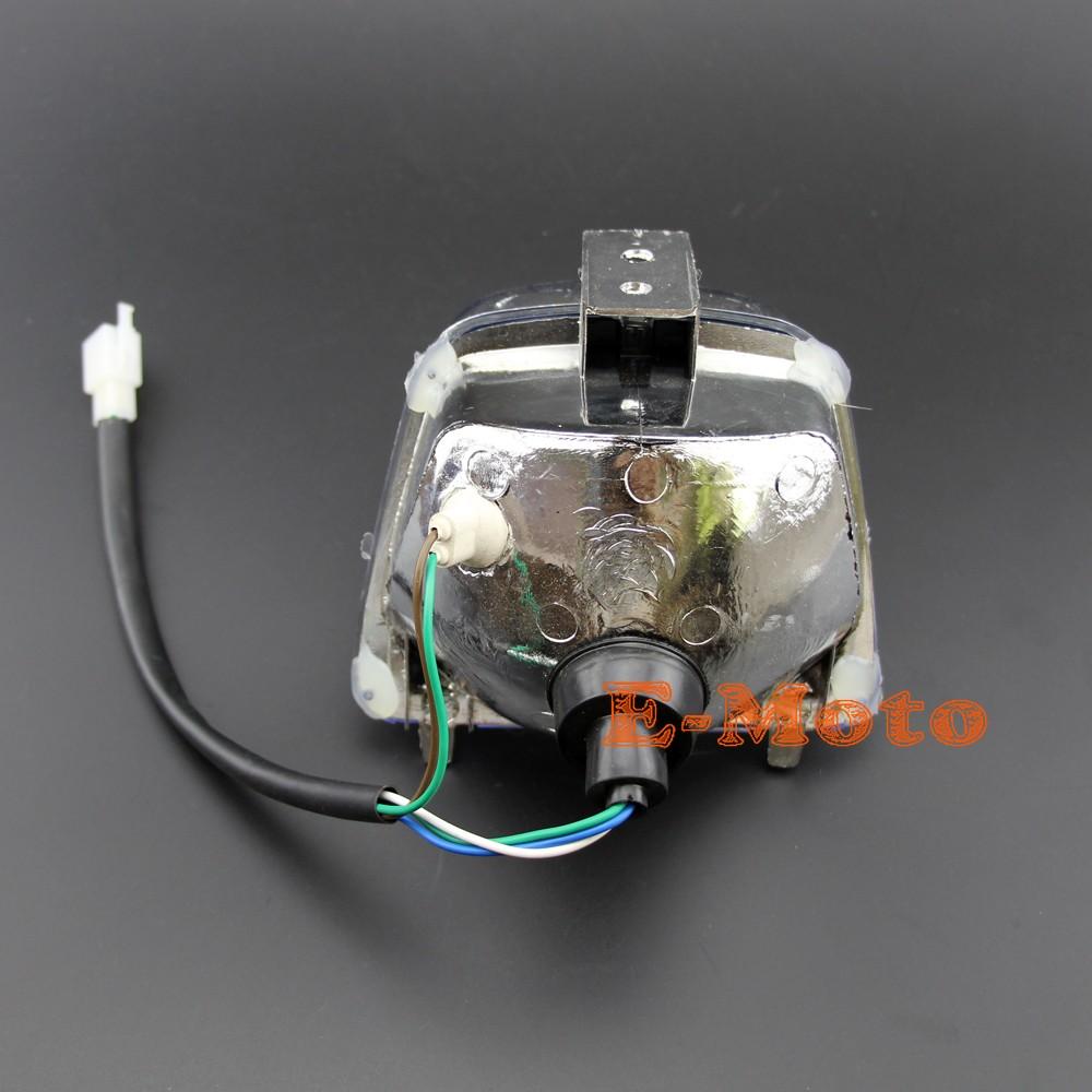 tao tao 110 atv wiring chinese atv quad 4 wires headlight assembly 50cc 70cc 90cc 110cc  headlight assembly 50cc 70cc 90cc 110cc