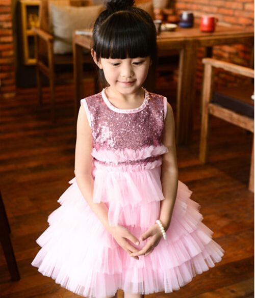 Vestidos Infantis New Real Baby Girls Dress Sleeveless Princess Party Summer Style Kids Clothes 2017 Dresses Children Clothing ems dhl free 2017 new lace tulle baby girls kids sleeveless party dress holiday children summer style baby dress valentine