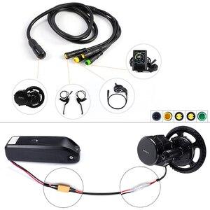 Image 4 - Bafang Kit de conversión de Motor de tracción media BBS02B de 48V y 750W con batería, KitLock, batería de bicicleta Samsung de 12AH/17,5ah