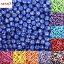 Beadia 100 piece/lot 8mm Bright Shiny Round Acrylic Loose