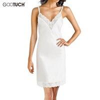 Lace Nightdress Nightgown Women Sleepshirts Suspender Night Deep V Neck Modal Nightgown Sleepwear Sexy Nightdress 4XL