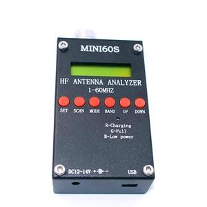 Image 2 - 새로운 블루투스 안드로이드 hf 개미 swr 분석기 1 60 mhz mini60 usb 높은 precison mini60s 안테나 미터 햄 라디오 C4 006
