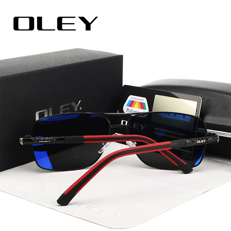 OLEY polariseeritud klaasidega päikeseprillid / päikseprillid meestele või naistele (Unisex) 3