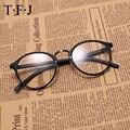 TFJ vidrios ópticos del marco gafas anteojos Cuadrados de las mujeres enmarcan los vidrios claros de aleaciones de Metal de La Vendimia de alta calidad 2016 nuevo