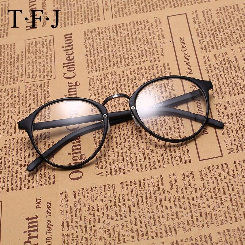 Dámské optické brýle TFJ rámové brýle Brýle s brýlemi Čiré brýle Kovové slitiny Vintage vysoce kvalitní 2016 nové