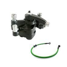 Buy online Oil Brake Fuel Line Rear Disc Brake Caliper W/ Pad 47cc 49cc Mini PIT Dirt Quad Pocket Rocket Bike green