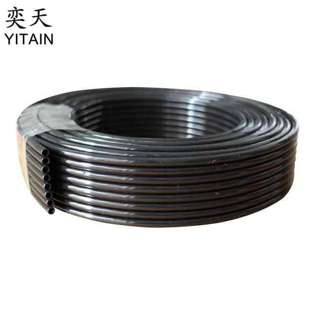 10 meters/lot UV Ink Tube 8 lines for UV Printer Supply Ink Lines Tube Damper and Cartridge( ID=1.8mm OD=3mm)