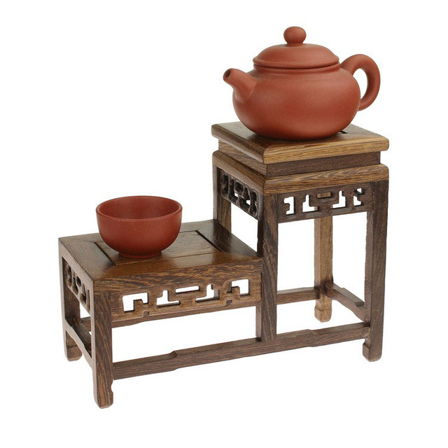 392181 руб дерева венге чай горшок чай полки высоких и низких стойку небольшой полка стеллаж деревянный уровне дерева малый антикварный шкаф Base