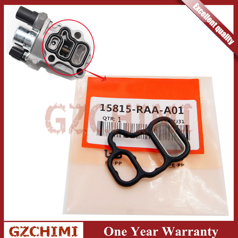 15815RAAA02 15815-RAA-A02 1pcs VTEC Solenoid Gasket Spool Valve Filter Screen For Honda Civic Accord CR-V Element