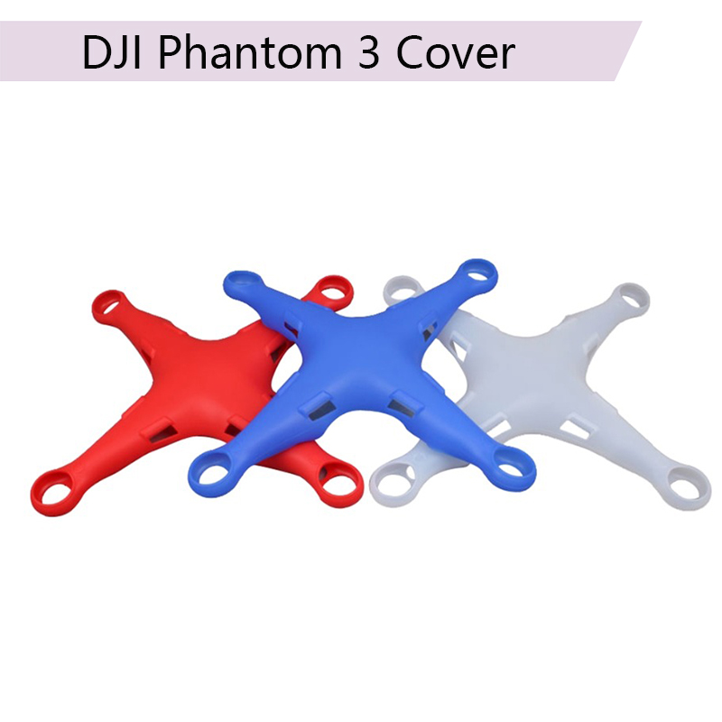 Body Protective Cover Shell Silicone Scratch-Resistant Case Skin For DJI Phantom 3 Standard SE Advanced Drone Accessory
