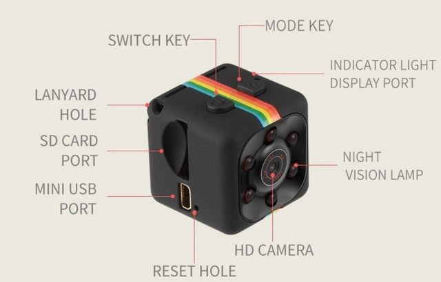 Image result for newest hot mini camera sq8 sq9 sq11 hd camcorder hd night vision mini camera 1080p aerial sports mini dv voice video recorder