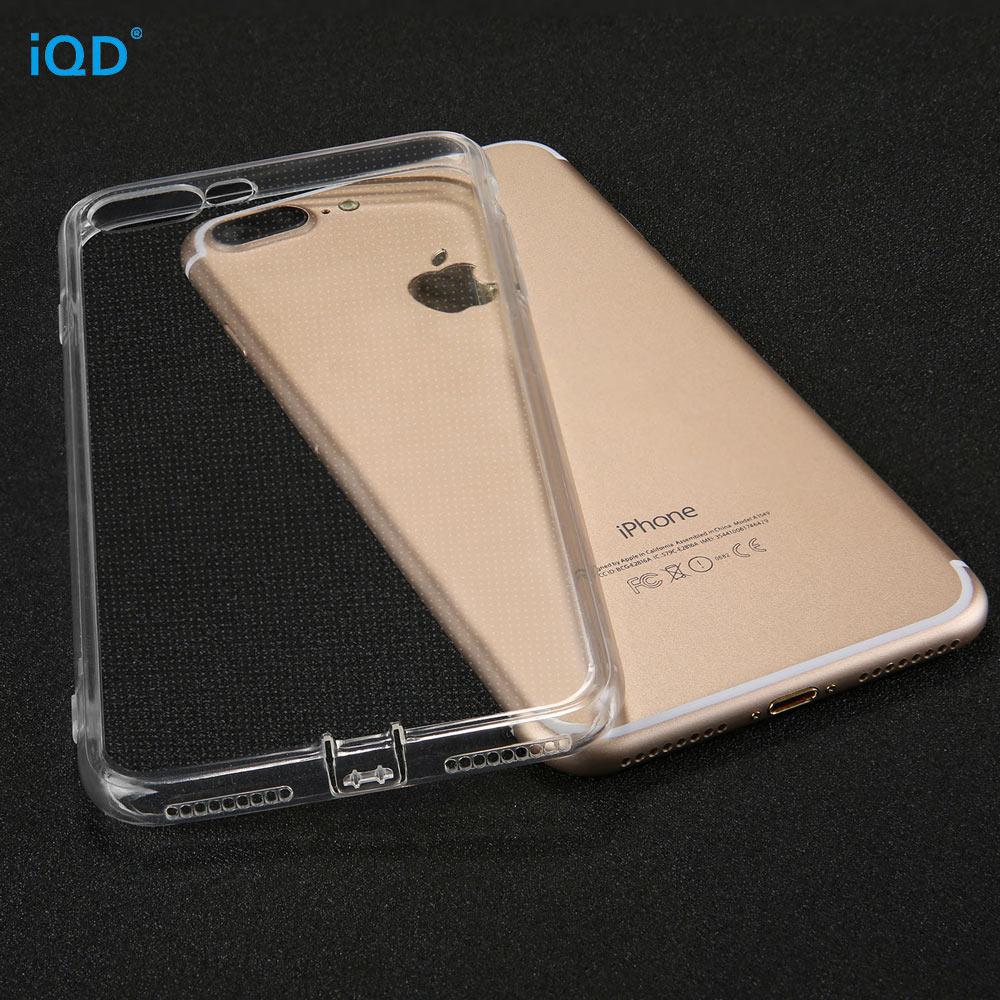 IQD iPhone X 8 7 Plus- ի պատյանների համար բարակ - Բջջային հեռախոսի պարագաներ և պահեստամասեր - Լուսանկար 3