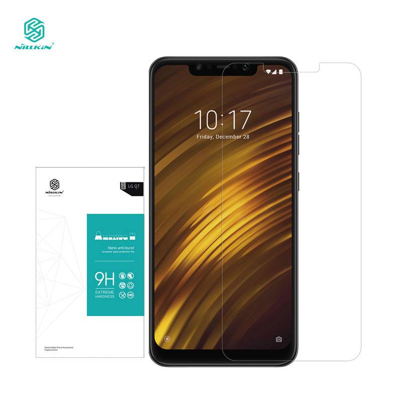 Xiaomi Pocophone F1 Gehärtetem Glas Nillkin Erstaunlich H 0,33mm Screen Protector POCO Pocophone F1 Glas