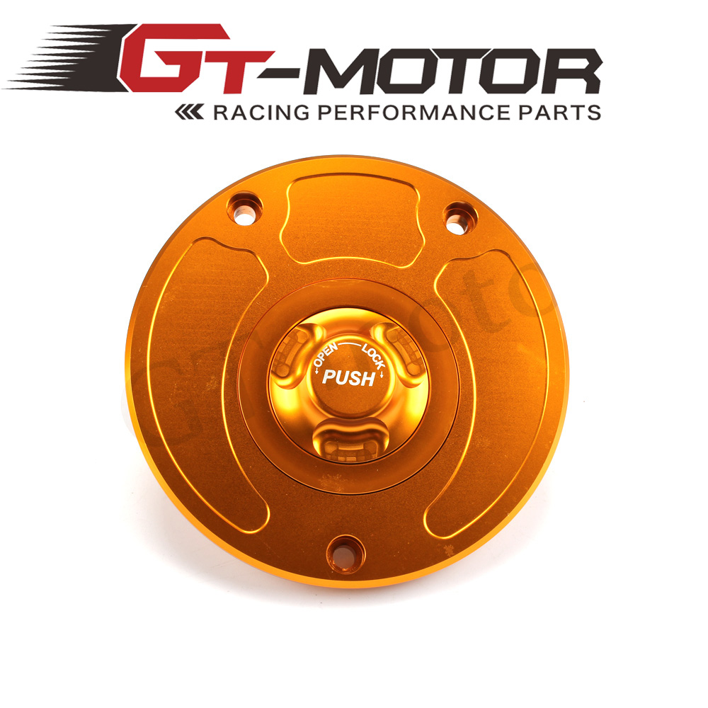 GT Motor - Motorcycle New CNC Aluminum Fuel Gas CAPS Tank Cap tanks Cover With Rapid Locking For KAWASAKI VERSY Z750 Z1000 gt motor motorcycle new cnc aluminum fuel gas caps tank cap tanks cover with rapid locking for suzuki gsf 650 1250 s bandit