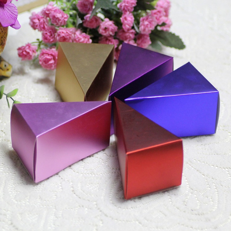 Small Gift For Wedding: 100pcs/lot Small Candy Gift Box For Wedding Planner DIY
