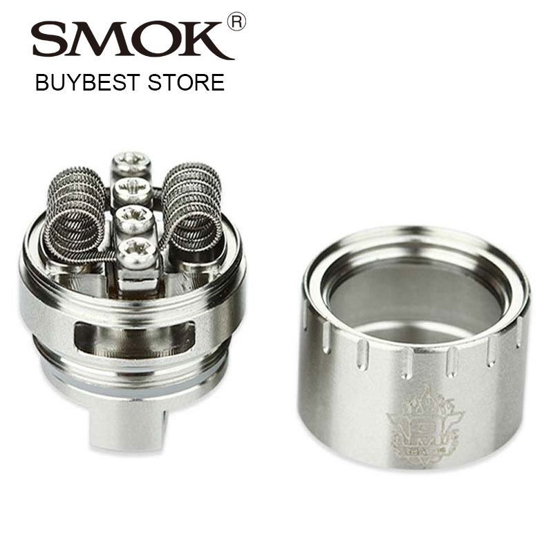 Original SMOK TFV8 RBA-16 Coil with 0.16ohm Octuple Core Fused Clapton Coil Rebuildable Atomizer Head for SMOK TF-V8 Vape Tank