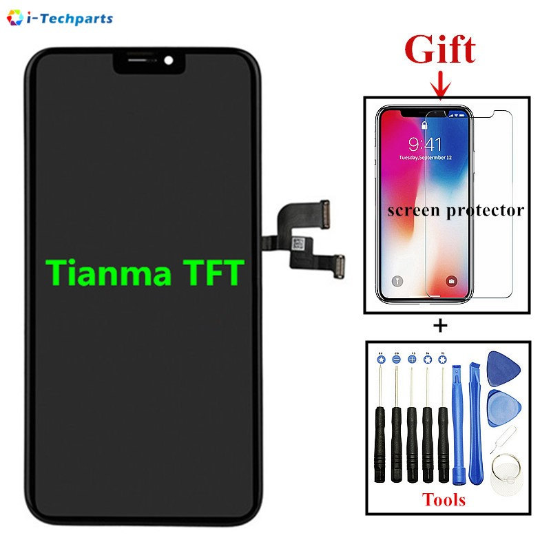 15Day Shipping, TFT for iPhone X LCD Display and Touch Digitizer Lens Screen Full Assembly Replacement Repair Part15Day Shipping, TFT for iPhone X LCD Display and Touch Digitizer Lens Screen Full Assembly Replacement Repair Part