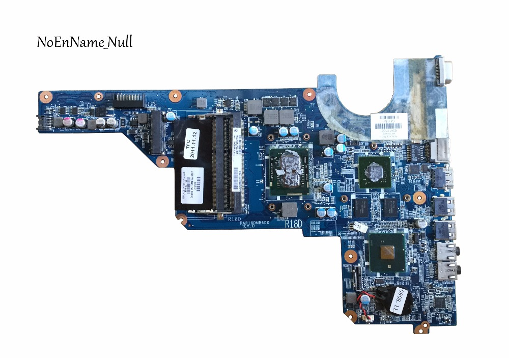 655985-001 Free Shipping G6-1000 654117-001 For HP G4 G6 Motherboard DAR18DMB6D0 I3-370M DSC HM55 520M 1G 100% Full Tested OK