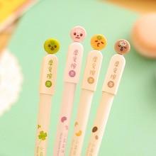 1 шт. 0.5 мм Aihao японский стираемые Kawaii милые письма гелевые ручки корейские школьные принадлежности канцелярских товаров для детей Студент подарок