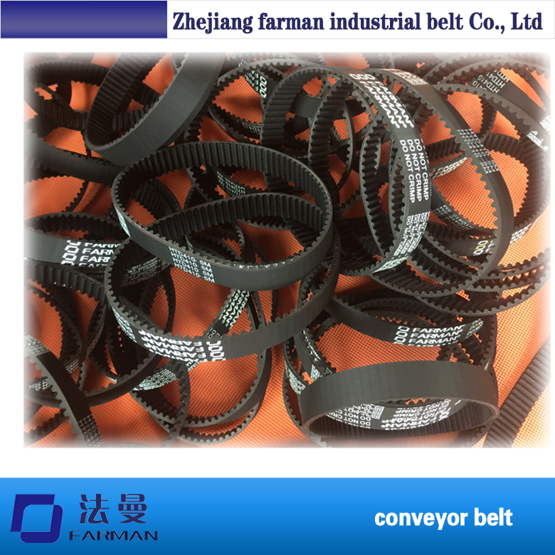 timing belt HTD3M/5M/8M/14M black type/pu Jointed timing belts s3m pu open belts nft nfb nft nfb covering jointed industrial timing belt