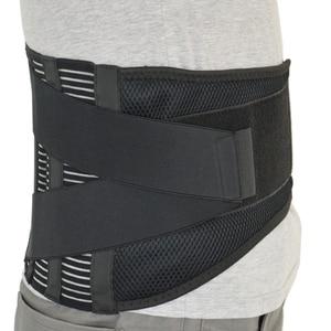 Image 5 - הרפואי AOFEITE גב תחתון תמיכת חגורת אורטופדי מותני מחוכים עם 4 רצועות למותן עמוד השדרה מתקן בחזרה סד גברים