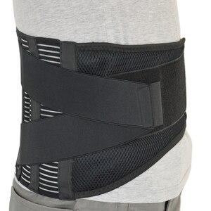 Image 5 - Aofeite Medische Onderrug Ondersteuning Riem Orthopedische Lumbale Korsetten Met 4 Staal Bandjes Voor Taille Wervelkolom Corrector Back Brace mannen