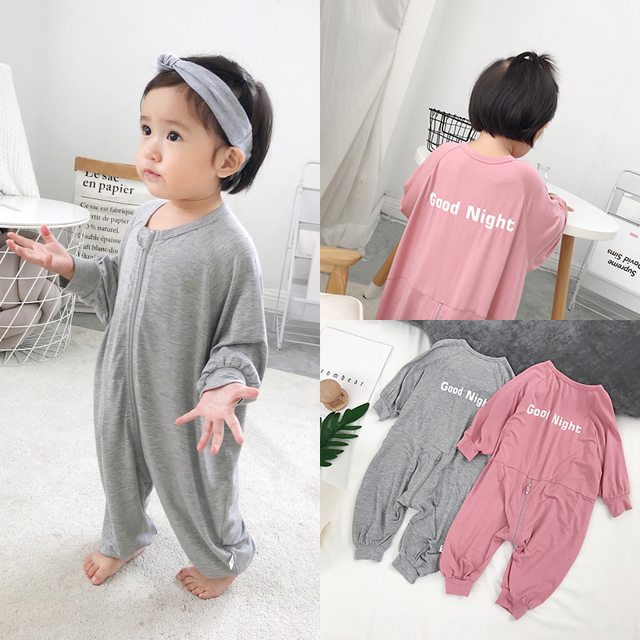 Children Clothing Pajamas Sleepers For Boys Girls Modal Blanket Sleepers  Baby Boys Sleepwear Baby Sleeping Bag One Piece c502d9fc5