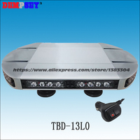 TBD 13L0 Emergency Security Light Mini Bar/40W LED mini Light Bar/12v Truck Strobe Mini Light Bar/TIR len Strobe Beacon LightBar