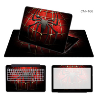 Laptop Sticker Mouse Pad Sets Skin Cover For Alienware M14X R3 M15X M17X R3 M17X R4