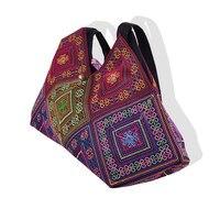 4cf681f6fe7e4 New National Trend Embroidery Rice Dumplings Shoulder Bag Tote Handmade  Embroidered Ethnic Characteristics Women S Handbags