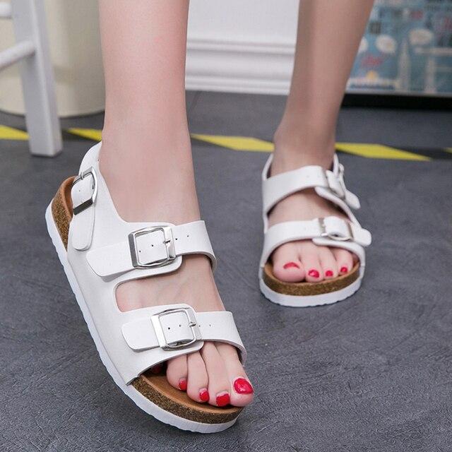 Playa Zapatos Chanclas Sandalias Corcho De 5a4ljr Mujer EHD2e9IbWY