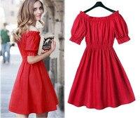 Drop Ship L 5XL Plus Size Dress 50s Style Pinup Dress Retro Clothes Black Cotton Womens