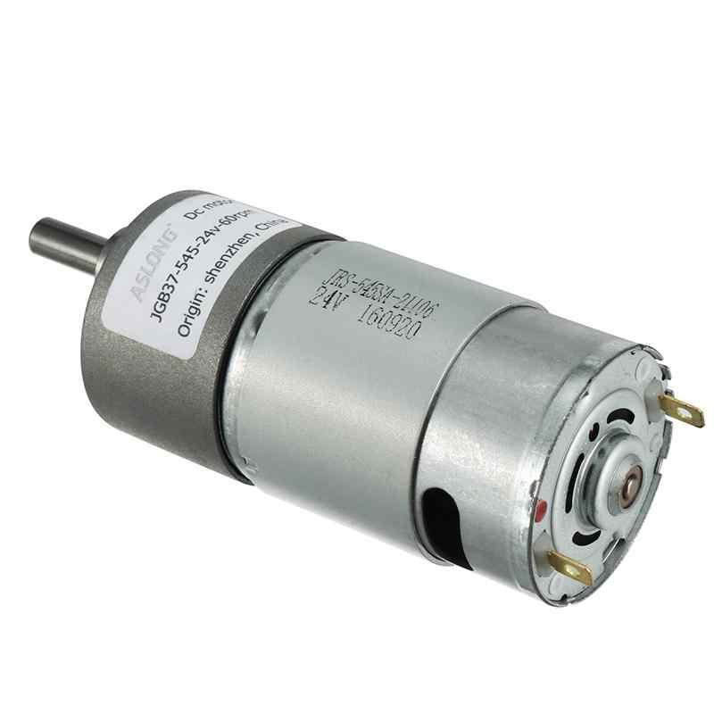 DC 24 V 20/30/60/100/120/200/300/500/1000 RPM Motores de 6mm de Diâmetro Do Eixo Da Caixa De Engrenagens Elétrica Velocidade Reduzir A Substituição Do Motor DC