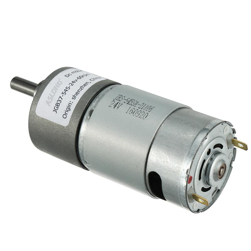 DC 24V 20/30/60/100/120/200/300/500/1000RPM Motors 6mm Diameter Shaft Electric Gear Box Speed Reduce Replacement DC Motor 40rpm speed 6mm diameter shaft geared motor dc 24v